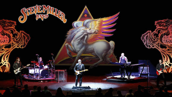 Steve Miller Band at Harveys Outdoor Arena