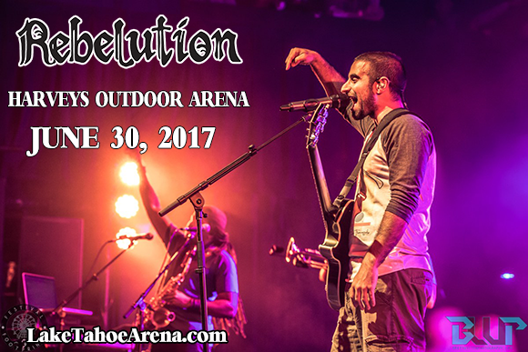 Rebelution, Nahko and Medicine For The People & Collie Buddz at Harveys Outdoor Arena