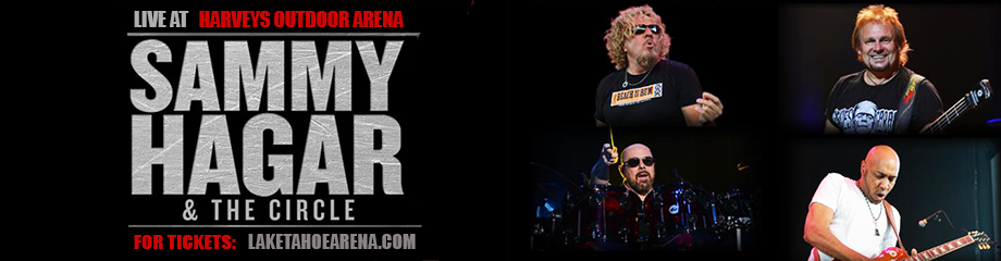 Sammy Hagar And The Circle at Harveys Outdoor Arena
