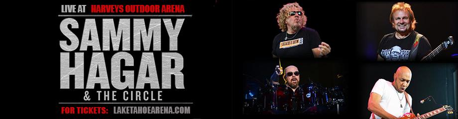 Sammy Hagar And The Circle at Harveys Outdoor Arena