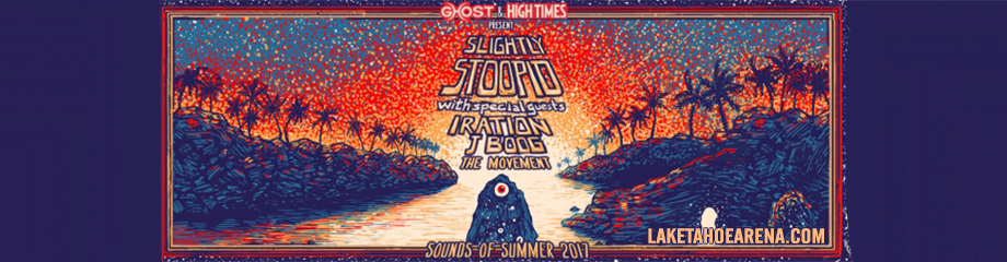 Slightly Stoopid, Iration & J Boog at Harveys Outdoor Arena