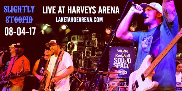 Slightly Stoopid, Iration & J Boog at Harveys Outdoor Arena