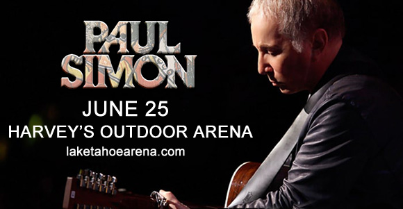 Paul Simon at Harveys Outdoor Arena