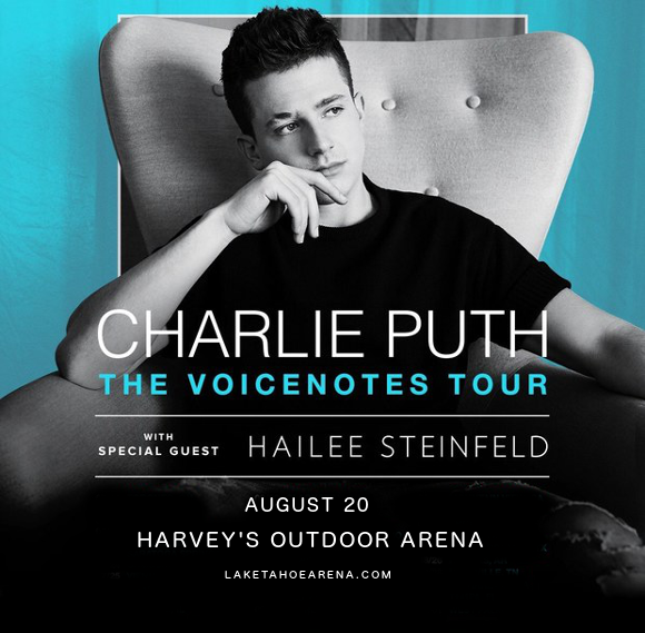 Charlie Puth & Hailee Steinfeld at Harveys Outdoor Arena