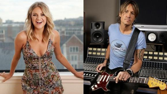 Keith Urban & Kelsea Ballerini at Harveys Outdoor Arena