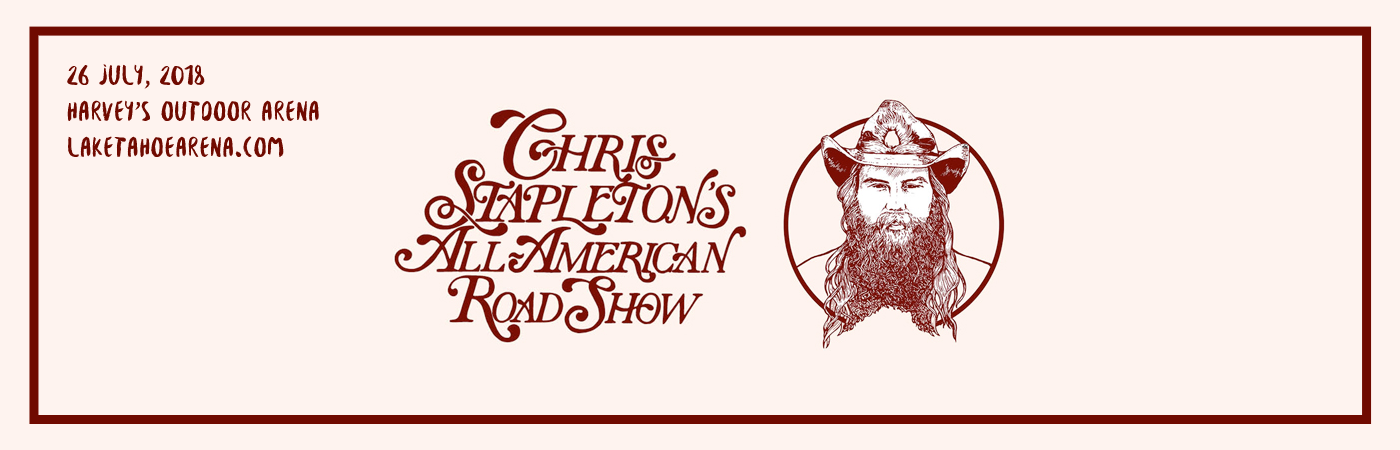 Chris Stapleton, Marty Stuart & Brent Cobb at Harveys Outdoor Arena