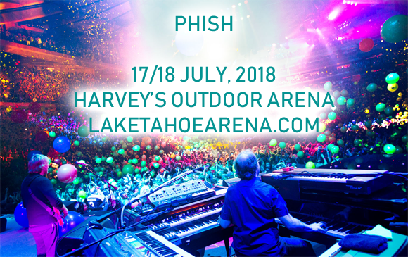 Phish at Harveys Outdoor Arena