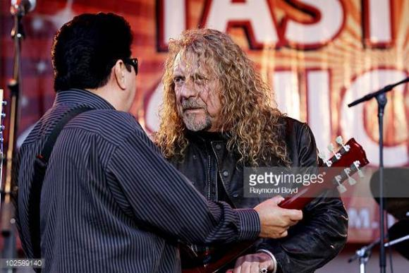 Robert Plant & Los Lobos at Harveys Outdoor Arena