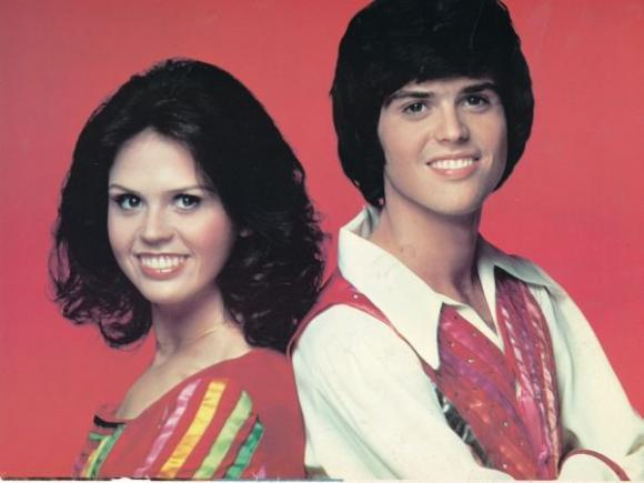 Donny and Marie Osmond at Harveys Outdoor Arena