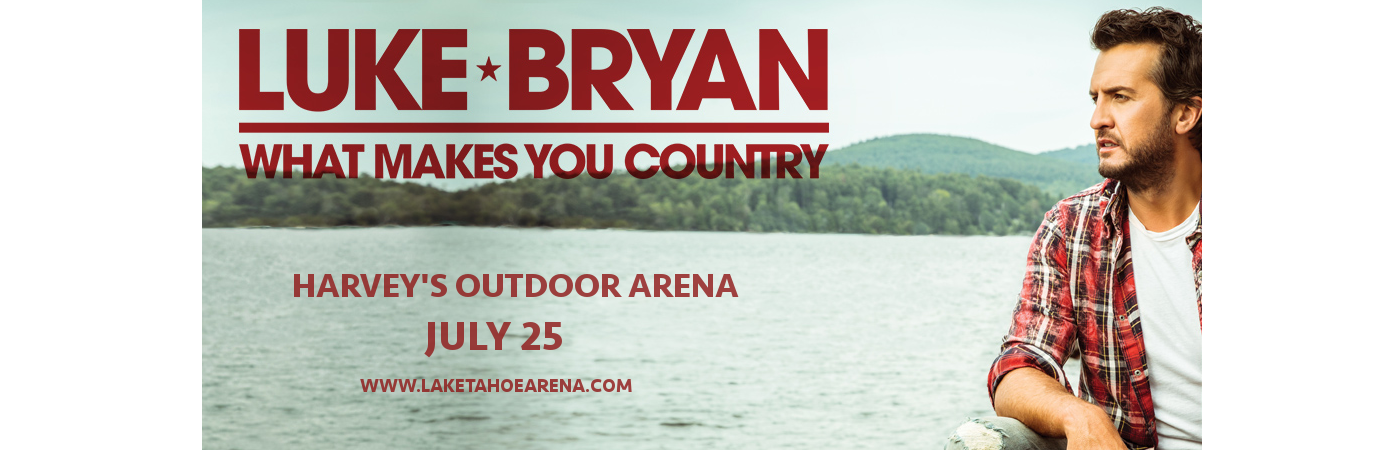 Luke Bryan & Morgan Wallen at Harveys Outdoor Arena