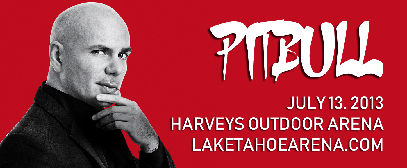 Pitbull at Harveys Outdoor Arena