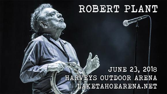 Robert Plant & Los Lobos at Harveys Outdoor Arena