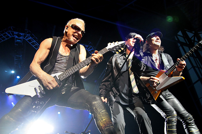 Scorpions at Harveys Outdoor Arena