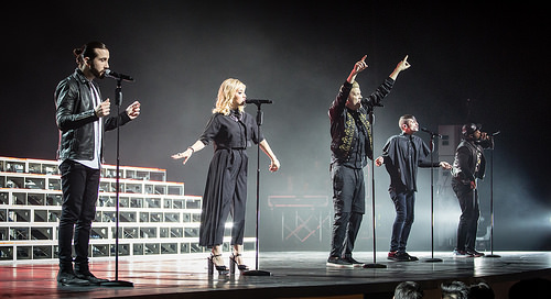 Pentatonix at Harveys Outdoor Arena