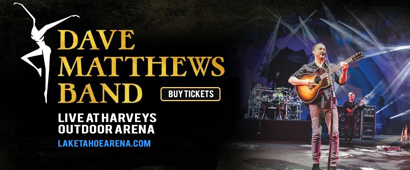 Dave Matthews Band at Harveys Outdoor Arena