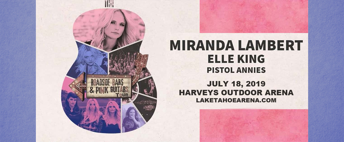 Miranda Lambert at Harveys Outdoor Arena