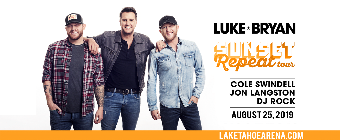 Luke Bryan & Jon Langston at Harveys Outdoor Arena