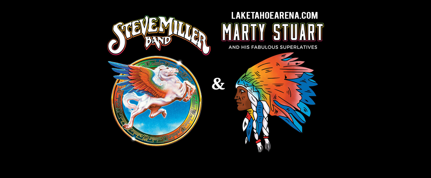 Steve Miller Band & Marty Stuart at Harveys Outdoor Arena