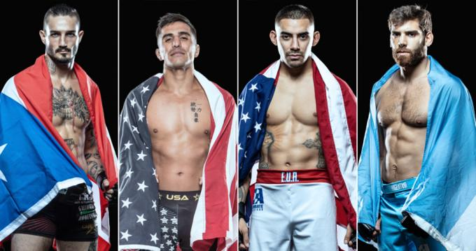 Combate Americas World Championship MMA at Harveys Outdoor Arena