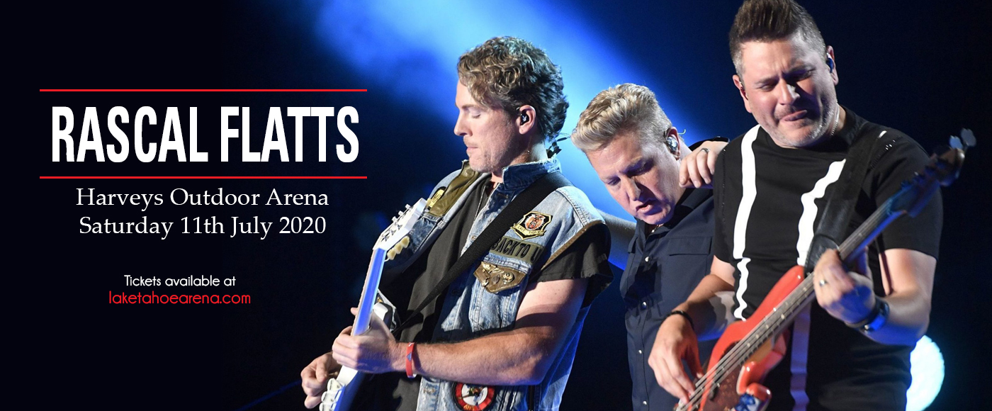 Rascal Flatts at Harveys Outdoor Arena
