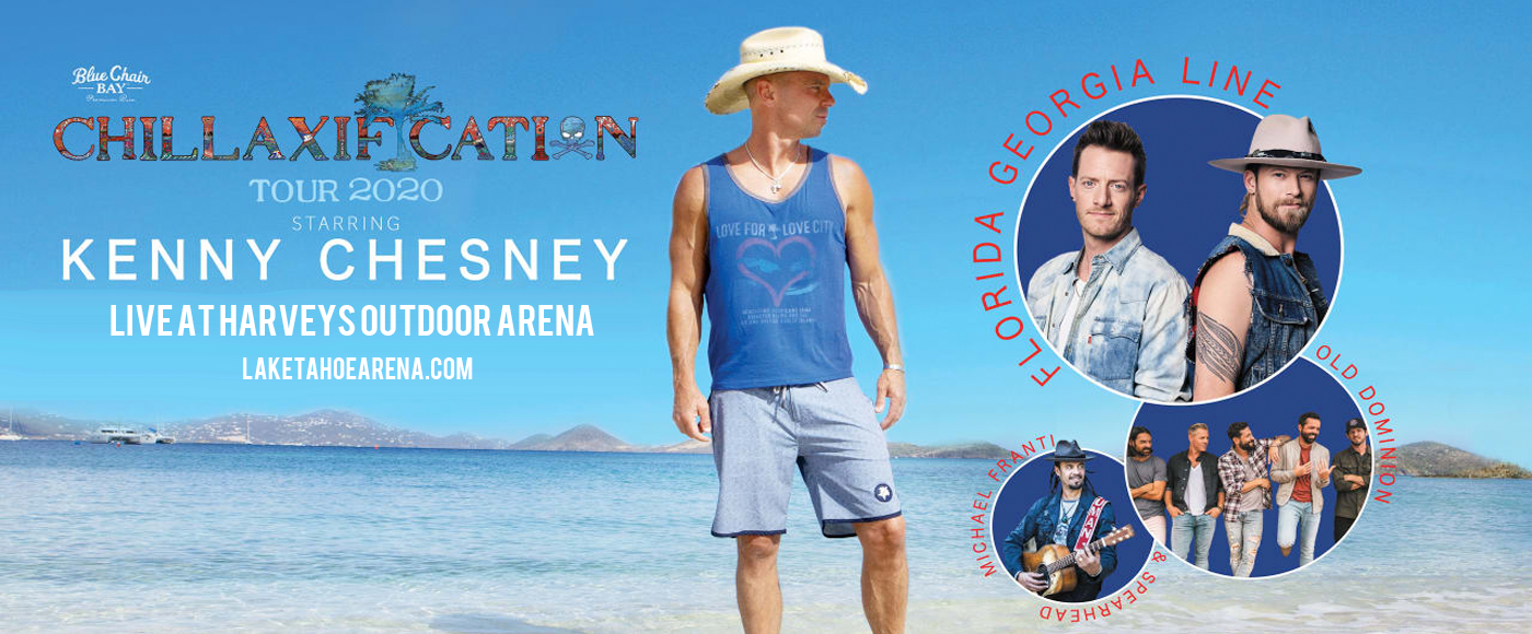Kenny Chesney at Harveys Outdoor Arena