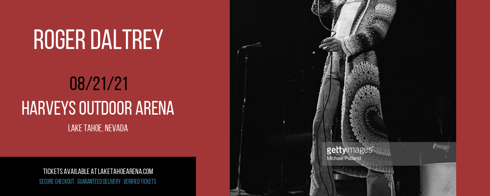 Roger Daltrey at Harveys Outdoor Arena