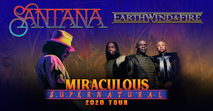 Earth, Wind and Fire at Harveys Outdoor Arena