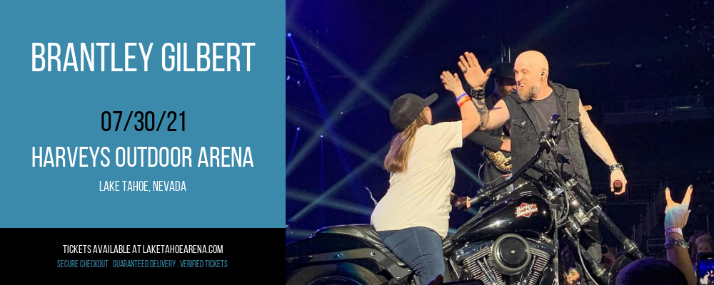 Brantley Gilbert [CANCELLED] at Harveys Outdoor Arena