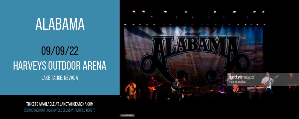 Alabama at Harveys Outdoor Arena