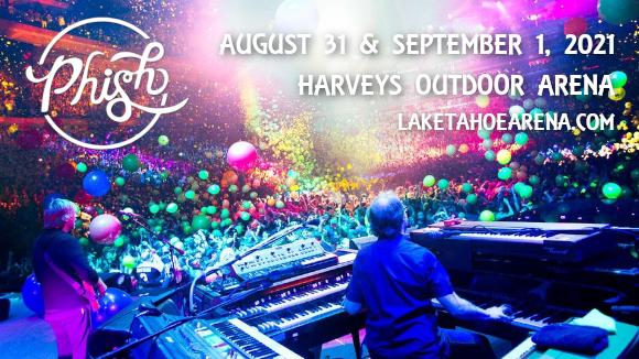 Phish - 2 Day Pass [CANCELLED] at Harveys Outdoor Arena