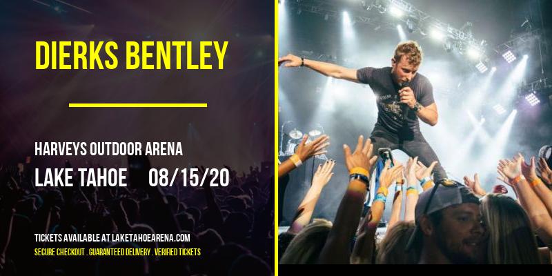 Dierks Bentley at Harveys Outdoor Arena