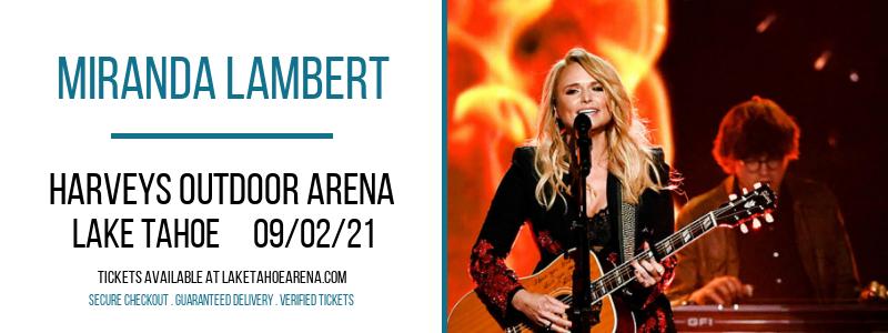 Miranda Lambert at Harveys Outdoor Arena